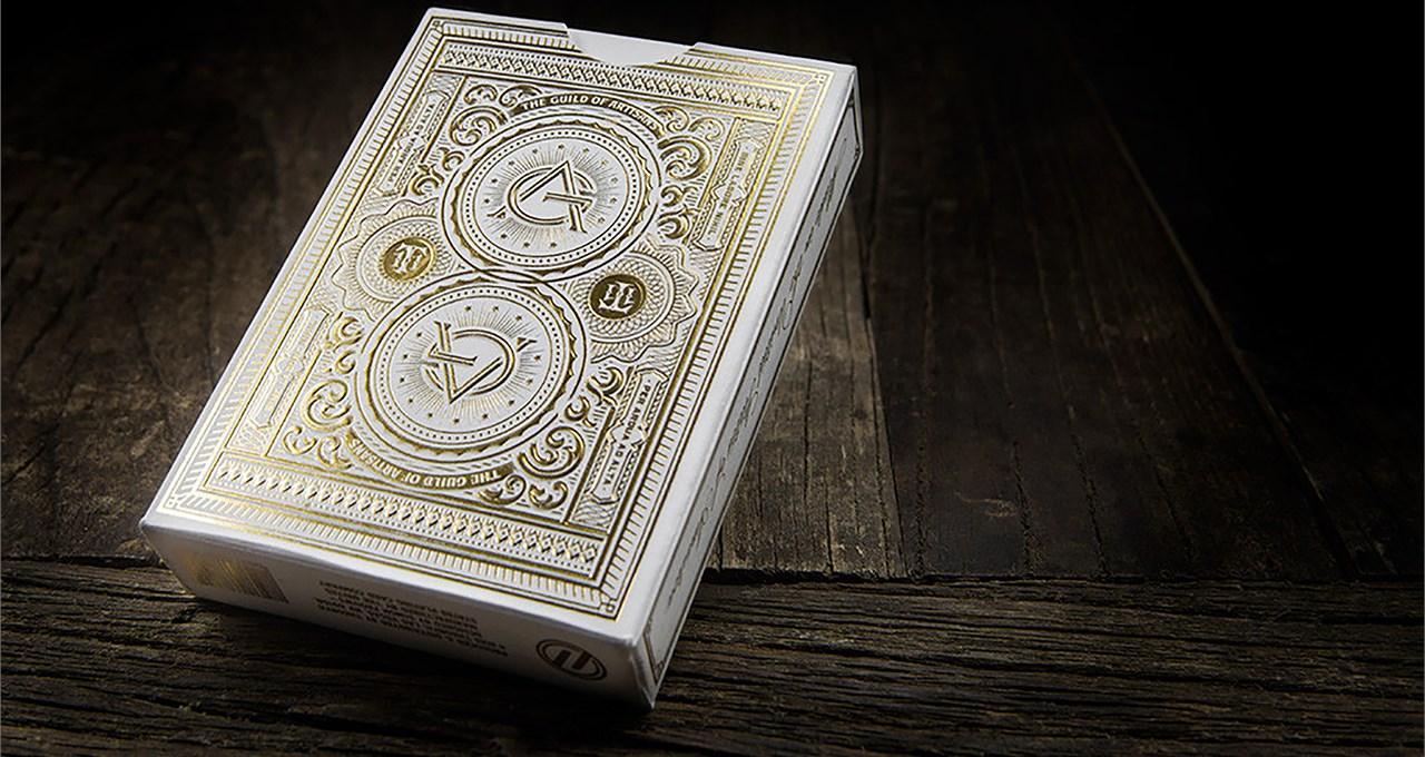Artisan Playing Cards (White) - magic