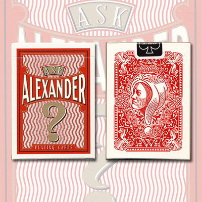 Ask Alexander Playing Cards - magic