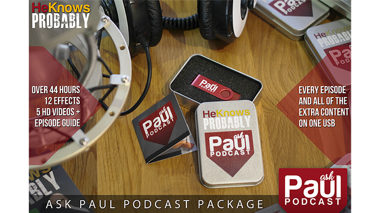 Ask Paul Podcast Package - magic