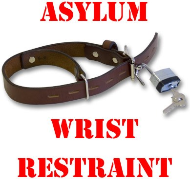 Asylum Wrist Restraint - magic