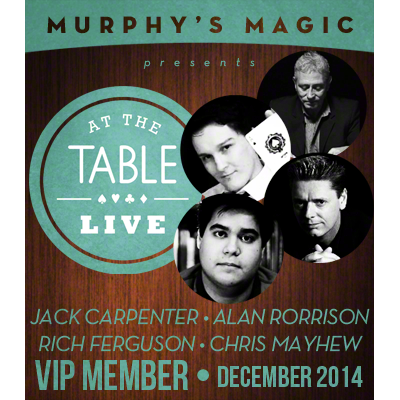 At The Table VIP Member - December 2014  - magic