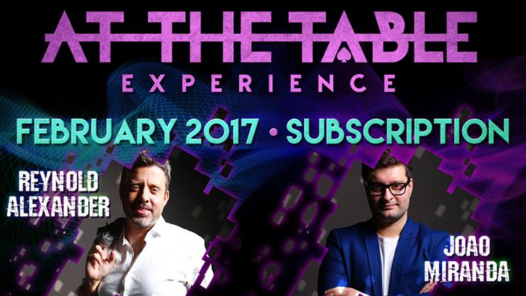 At The Table - February 2017  - magic