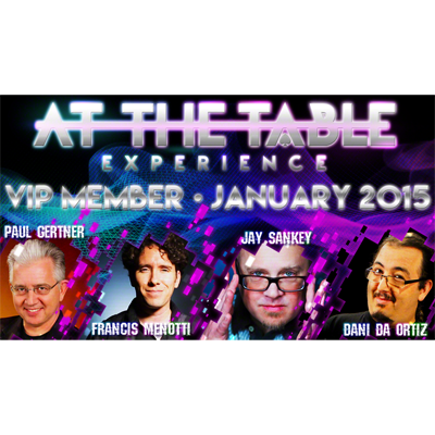 At The Table - January 2015 - magic