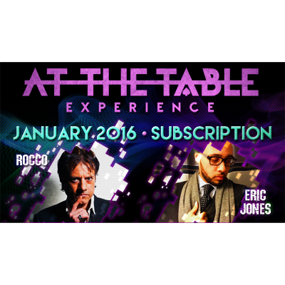 At The Table - January 2016 - magic