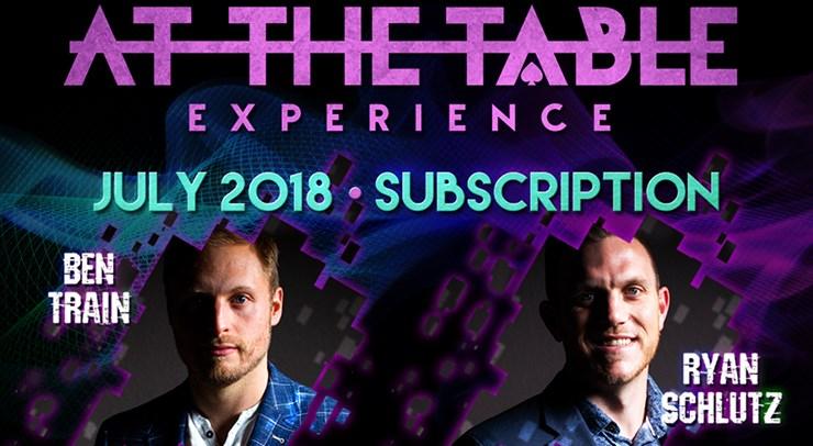 At The Table - July 2018 - magic
