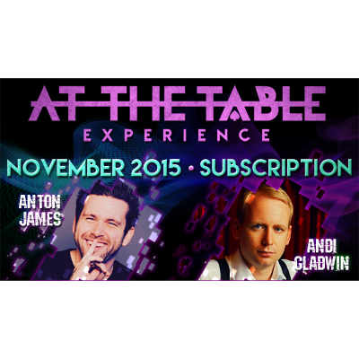 At The Table - November 2015 - magic