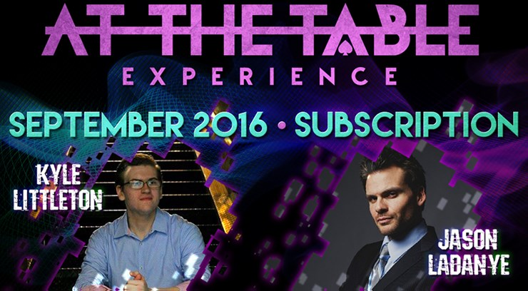 At The Table - September 2016 - magic