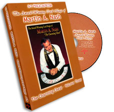 Award Winning Card Magic of Martin Nash - A-1 Volume 3, DVD - magic