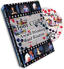 Award Winning Card Routine Tony Clark - magic