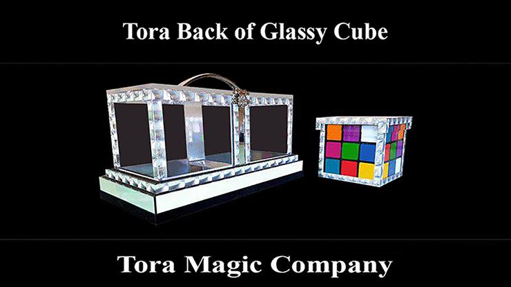 Back of Glassy Cube - magic