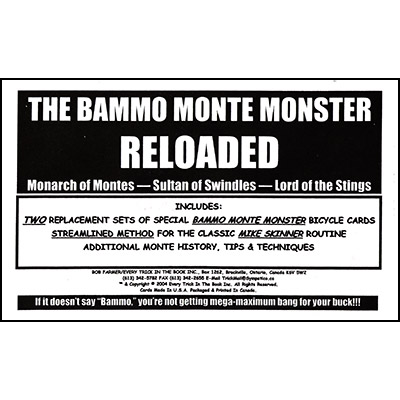 Bammo Monte Monster Reloaded - magic
