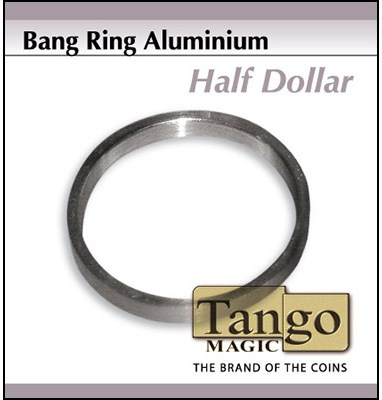 Bang Ring Half Dollar Aluminum by Tango - magic
