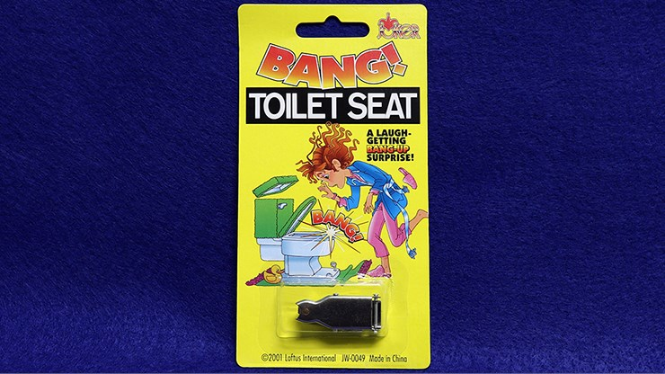BANG! Toilet Seat Prank - magic