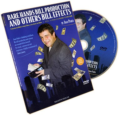 Bare Hands Bill Production and Other Bill Effects - magic
