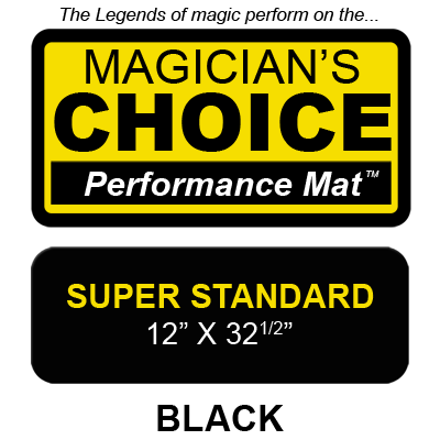 Bartender's Choice Close-Up Mat (BLACK Super Standard - 12x32.5)  - magic