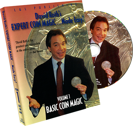 Basic Coin Magic - Volume 1 (David Roth) - magic