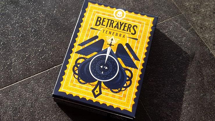 Betrayers Tenebra Playing Cards - magic