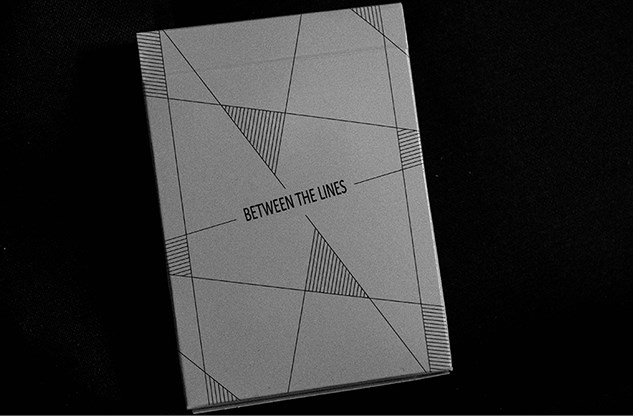 Between the Lines Playing Cards - magic