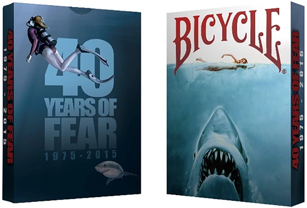 Bicycle 40 Years of Fear Jaws Playing Cards - magic