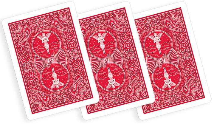 Bicycle 809 Mandolin Back Playing Cards - magic