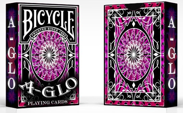Bicycle A Glo Playing Cards - magic
