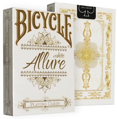 Bicycle Allure White Deck - magic
