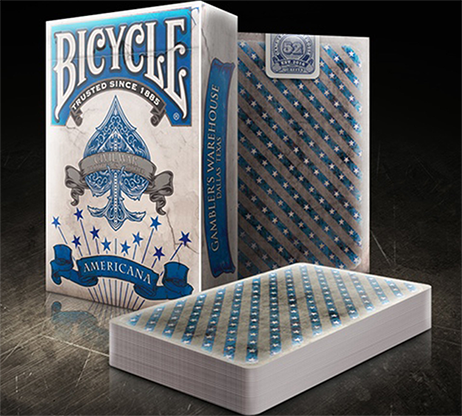 Bicycle Americana Playing Cards - magic