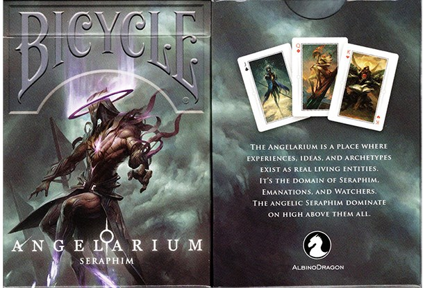 Bicycle Angelarium  - Seraphim - magic
