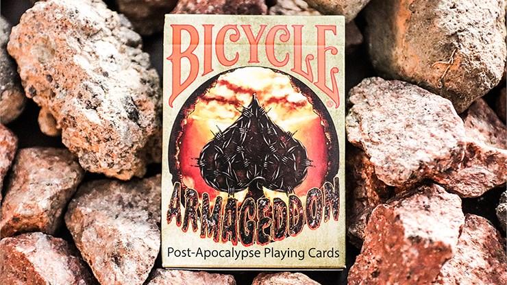 Bicycle Armageddon Post-Apocalypse Playing Cards - magic
