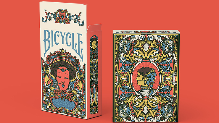 Bicycle Artist Playing Cards Second Edition - magic