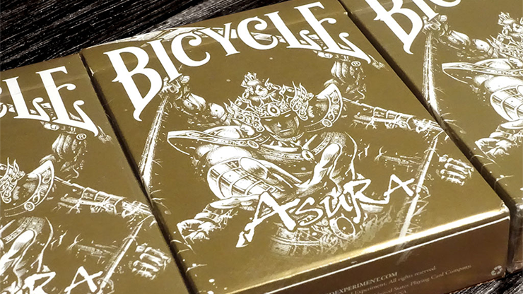 Bicycle Asura Gold Playing Cards - magic