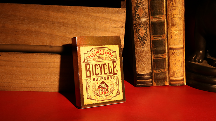 Bicycle Bourbon Playing Cards - magic