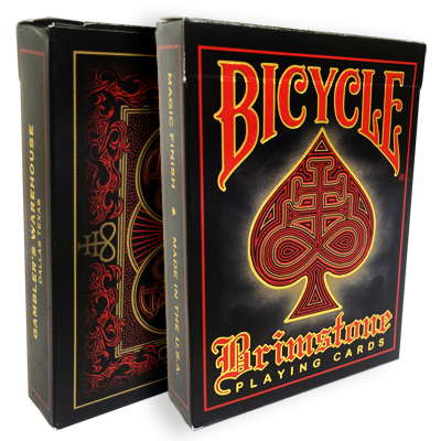 Bicycle Brimstone Deck (Red) - magic