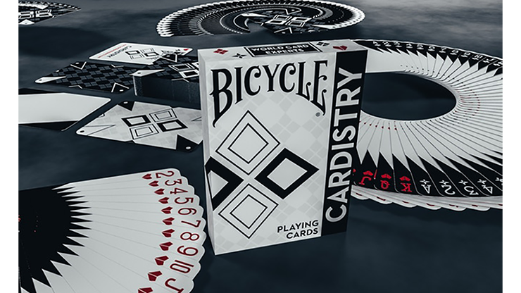 Bicycle Cardistry Black and White Playing Cards - magic
