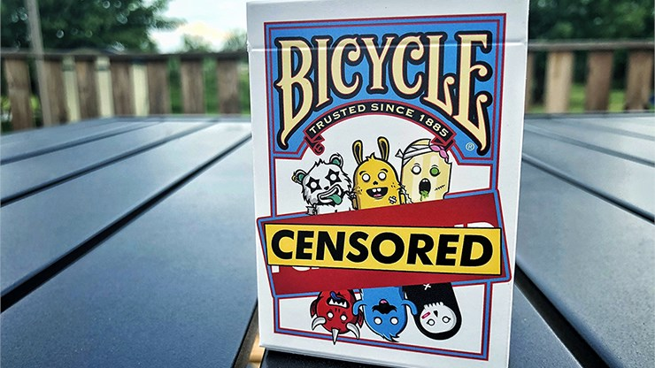 Bicycle Censored Playing Cards - magic