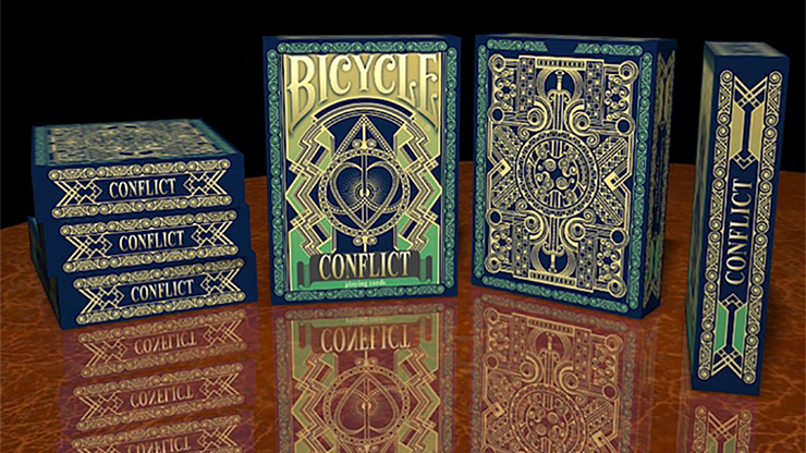Bicycle Conflict Playing Cards - magic