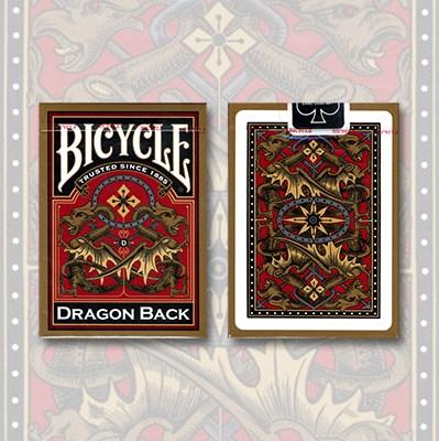 Bicycle Dragon Back Deck - magic