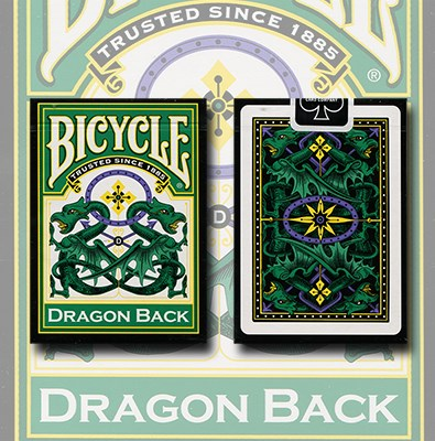Bicycle Dragon Deck (Green) - magic