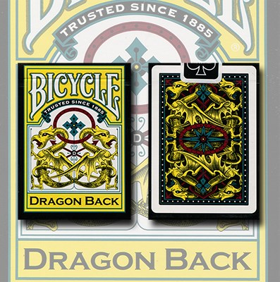 Bicycle Dragon Deck (Yellow) - magic