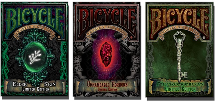 Bicycle Elder Sign Limited Edition Playing Cards - magic