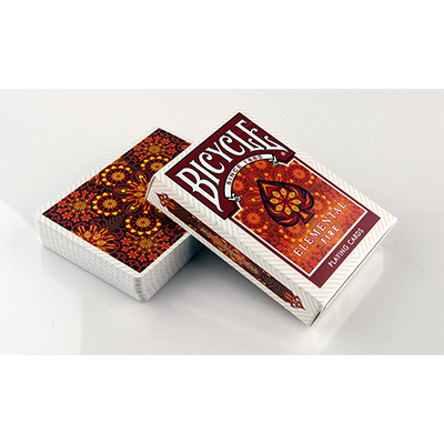 Bicycle Elemental Fire Collectable Playing Cards - magic