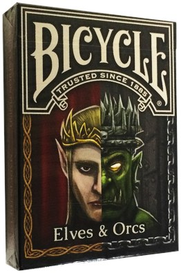 Bicycle Elves and Orcs Deck - magic