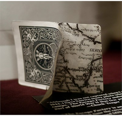 Bicycle Escape Map Playing Cards - magic