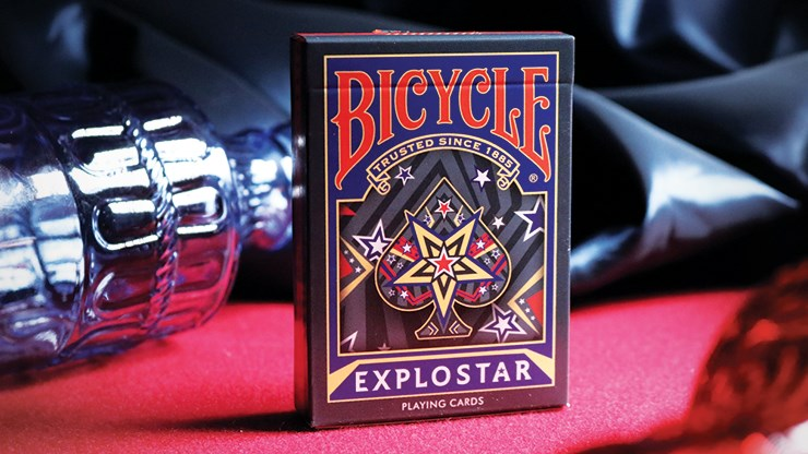 Bicycle Explostar Playing Cards - magic