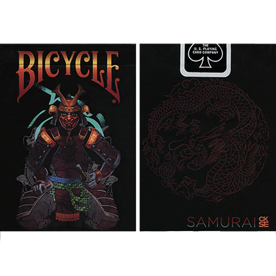 Bicycle Feudal Samurai Deck (Limited Edition with Numbered Sleeve) - magic