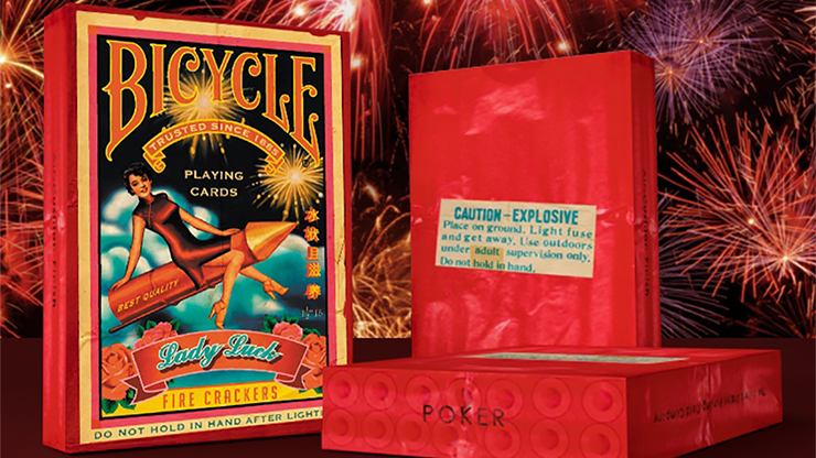Bicycle Firecracker Playing Cards - magic