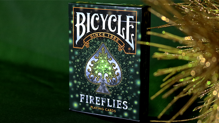 Bicycle Fireflies Playing Cards - magic