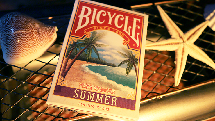 Bicycle Four Seasons Limited Edition Summer Playing Cards - magic