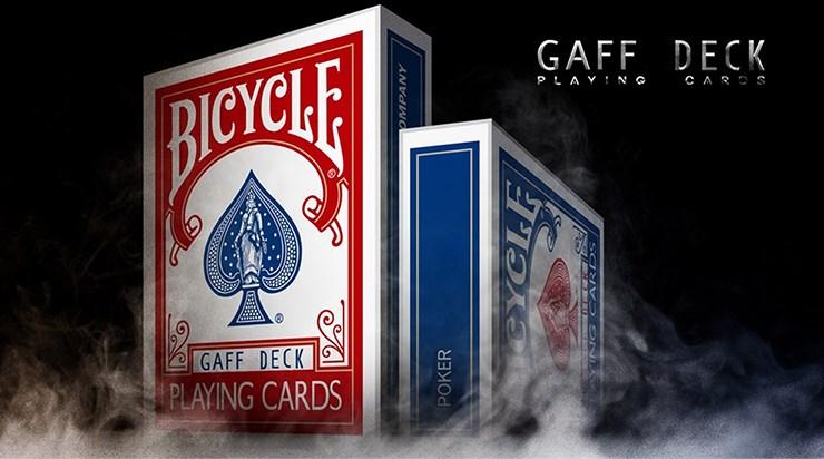 Bicycle Gaff Rider Back  Playing Cards - magic