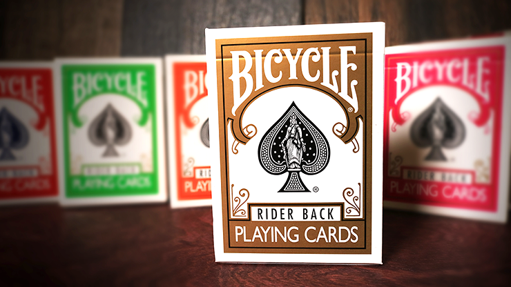 Bicycle Gold Playing Cards - magic